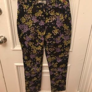Erdem beautiful floral trousers